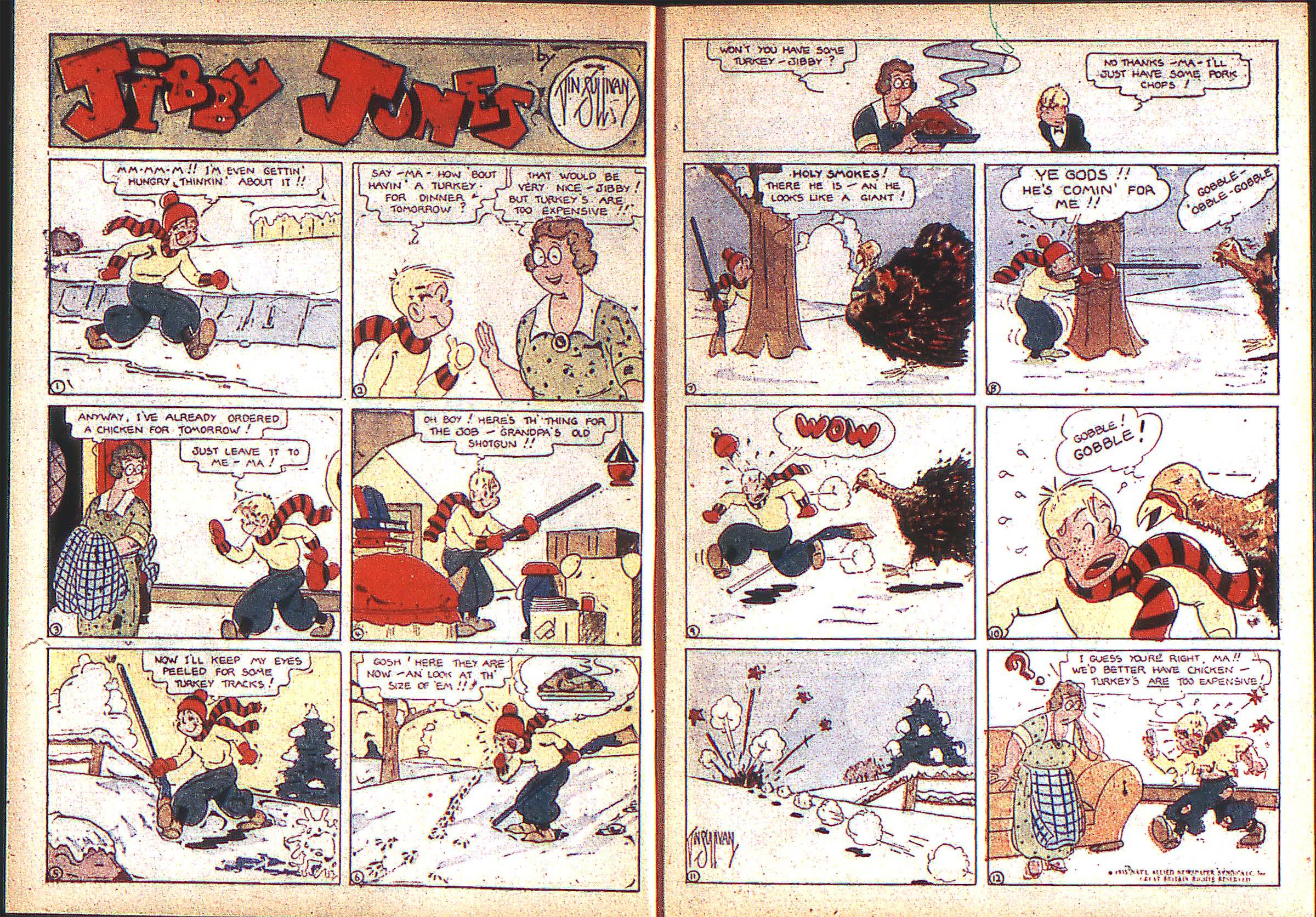 Read online Adventure Comics (1938) comic -  Issue #2 - 3
