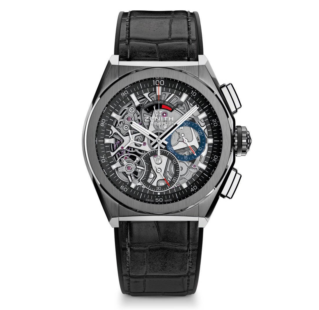 Zenith defy el primero 21 time and watches for Zenith watches