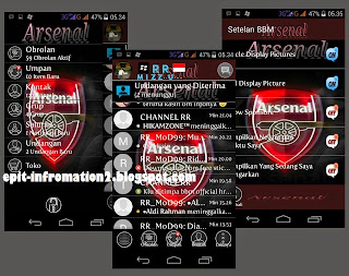 BBM Mod Arsenal Based 2.8.0.21 Terbaru