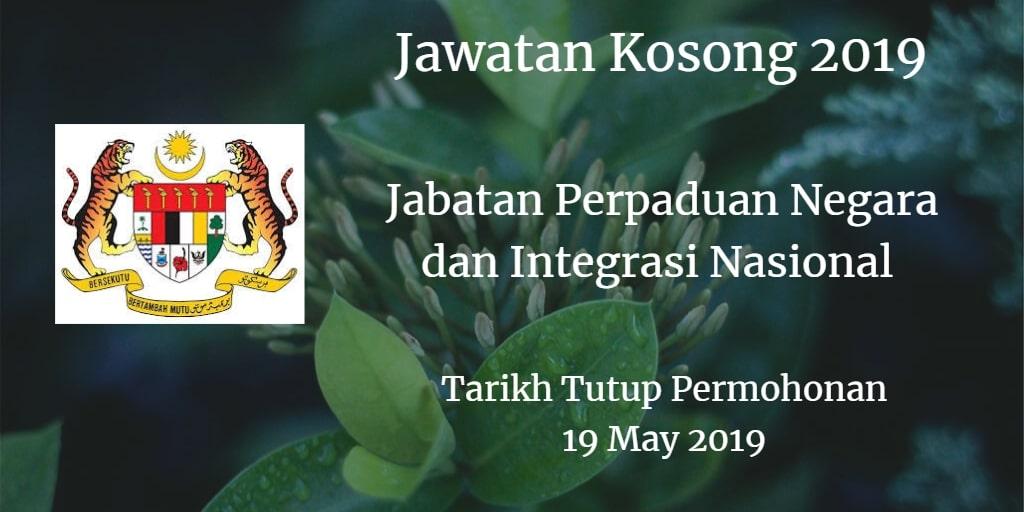 Jawatan Kosong JPNIN 19 May 2019