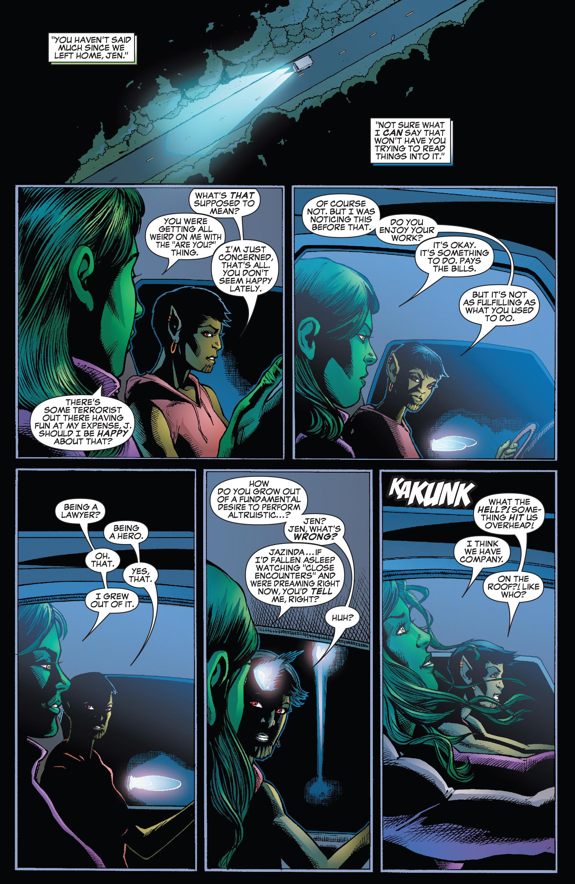 Read online She-Hulk (2005) comic -  Issue #25 - 7