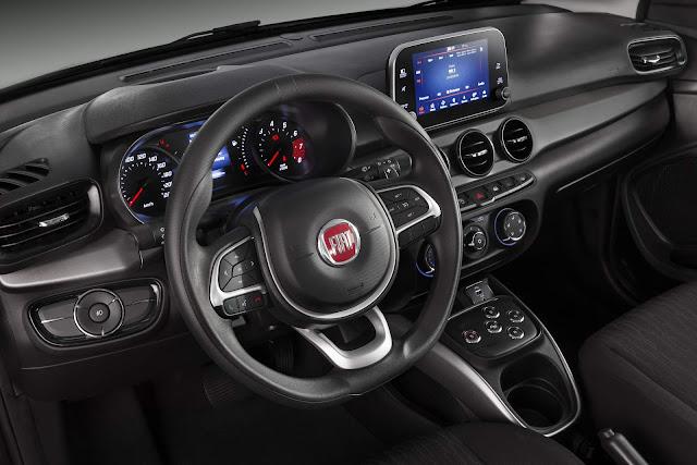 Fiat Argo 1.3 GSR Automatizado - interior