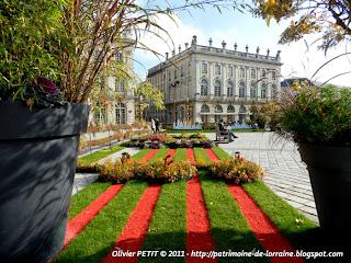 NANCY (54) - Place Stanislas : les jardins éphémères 2011