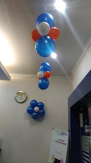 dekorasi balon lampion bri