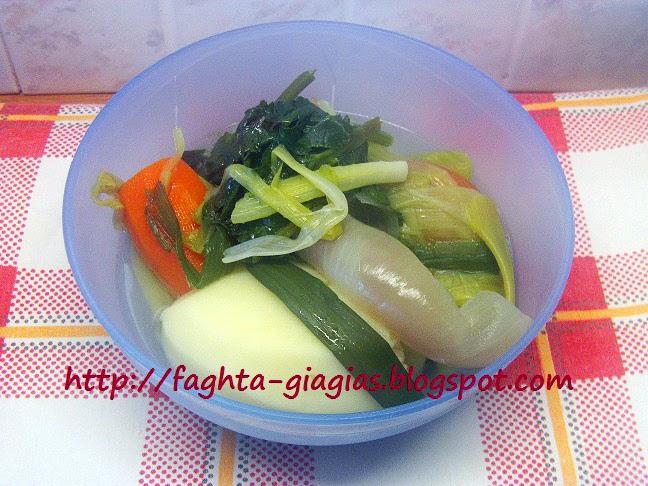 Τα φαγητά της γιαγιάς - Χορτόσουπα βελουτέ