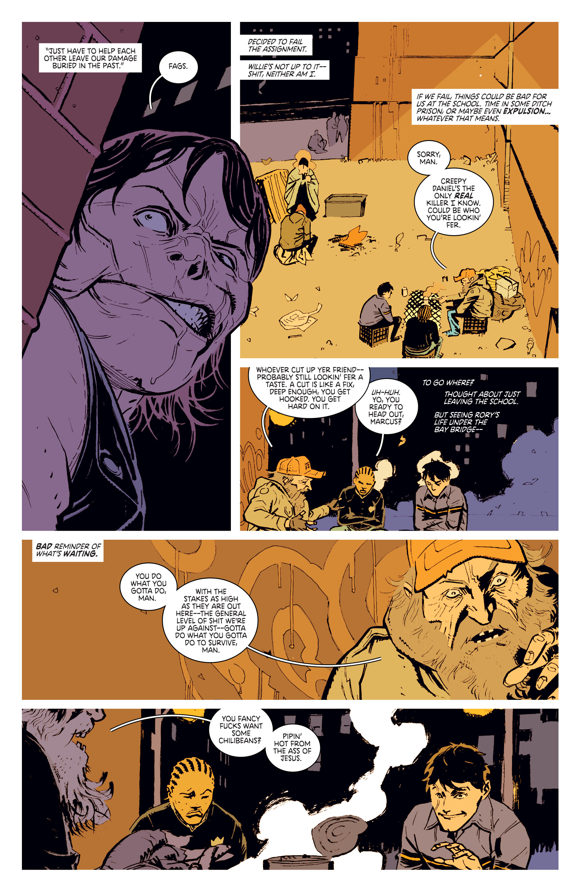 Read online Deadly Class comic -  Issue #3 - 18
