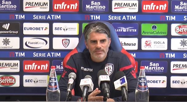 Benevento Cagliari la conferenza stampa di Diego Lopez
