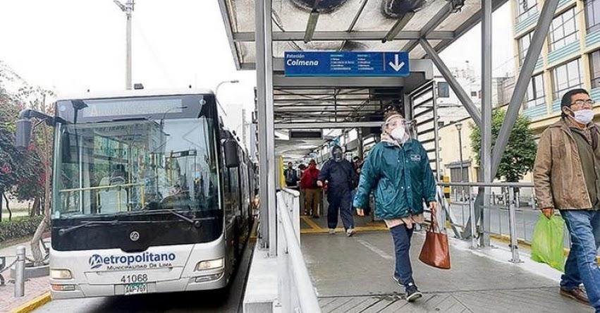 EL METROPOLITANO: Hoy deciden si suspenden servicio de transporte urbano
