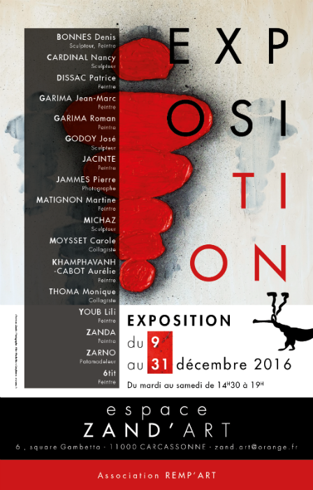 Exposition Zanda - Espace Zand'art à Carcassonne