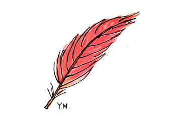 Feather by Yukié Matsushita