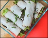 May - Easy Skinny Turkey Roll-ups with Fresh Veggies