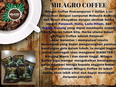 Milagro Coffee Kopi Patawali Yang Pertama No 1 Di Malaysia Dan Dunia Online
