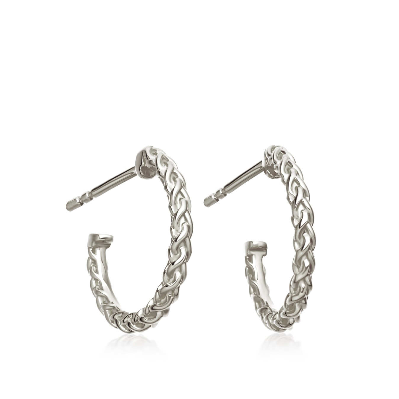 Astley Clarke Mini Spiga Hoop Earrings - British luxury jewellery - UK style blog