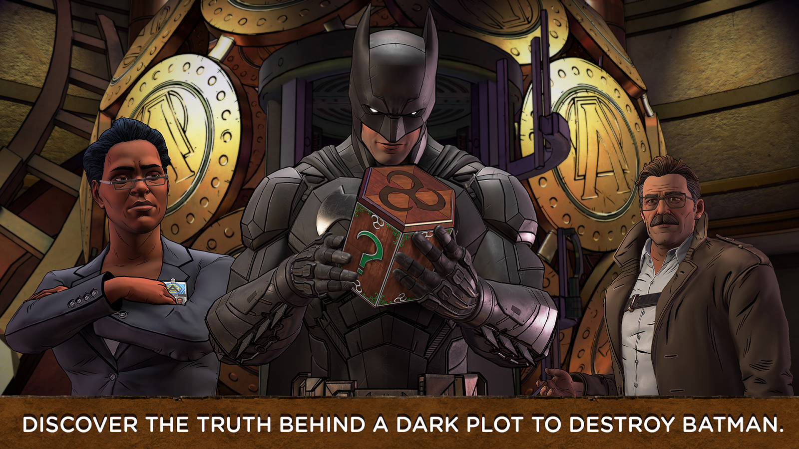 Batman The Enemy Within MOD APK Terbaru