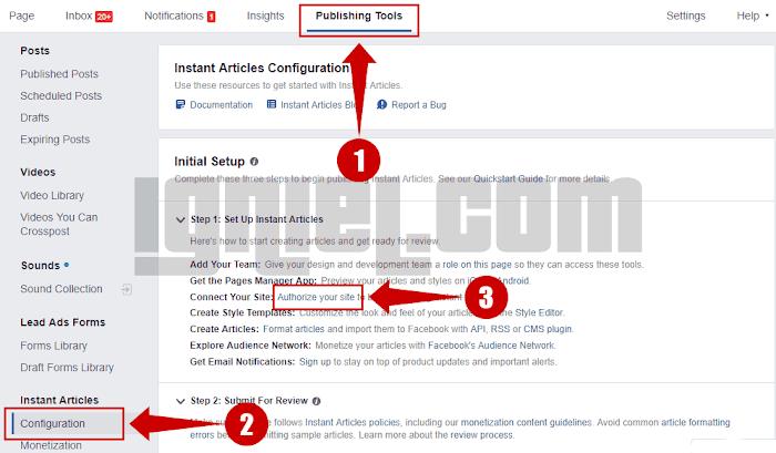 Cara Membuat Facebook Instant Articles Untuk Blogger