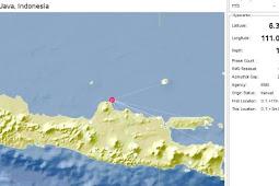 Gempa Berkekuatan 3.8 SR Terjadi di Timur Laut Pati, Terasa?