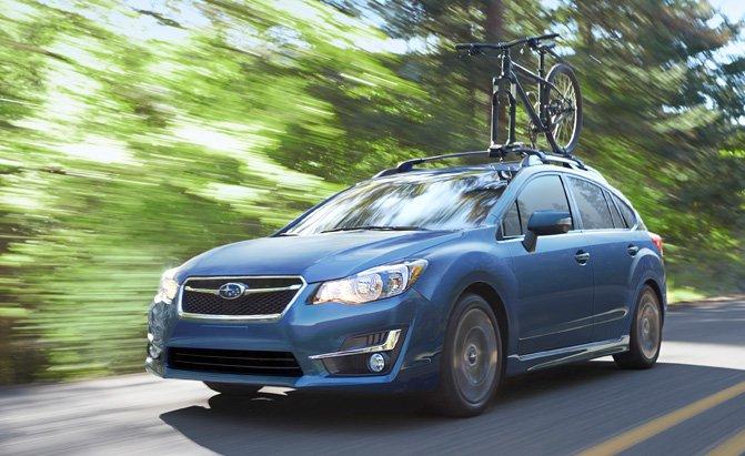 Xe nhỏ gọn tốt nhất: Subaru Impreza