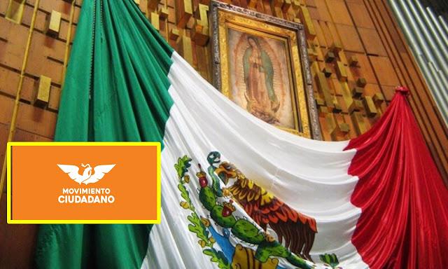 """""""Iglesia Católica de Mierd@"""", dice Movimiento Ciudadano en Jalisco."""