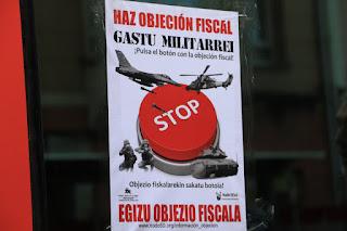 campaña por la objeción fiscal a los gastos militares