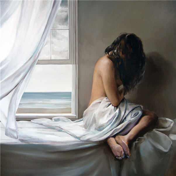 Victor Bauer 1969 | American Figurative painter