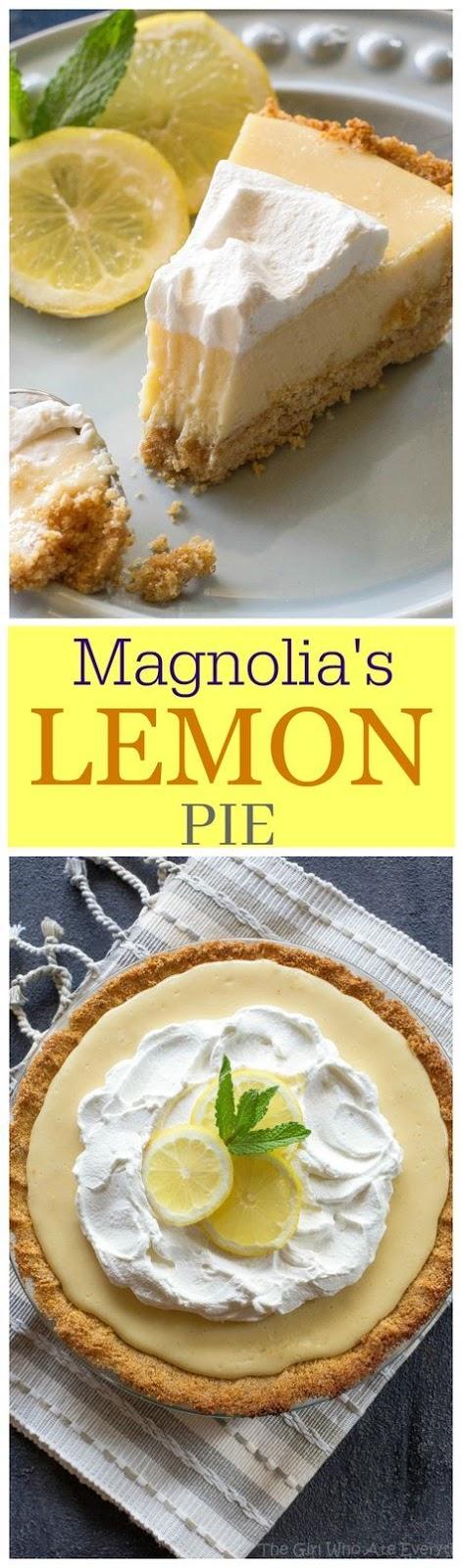 Magnolias Lemon Pie