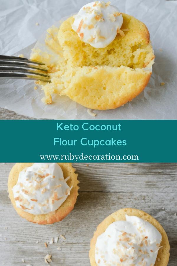 Keto Coconut Flour Cupcakes