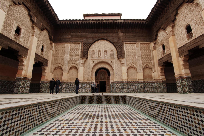 Madrasa Ali Ben Yousef en Marrakech