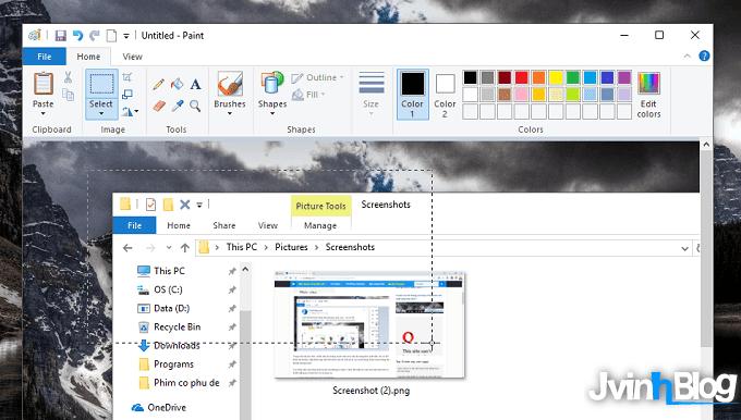 Cách chụp màn hình máy tính, laptop Win 7,8,10