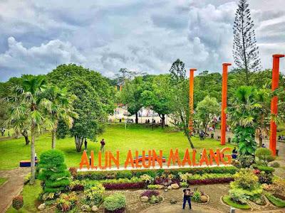 Taman Alun - alun Kota Malang