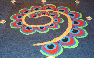 Happy Diwali 2018 Rangoli HD Photos