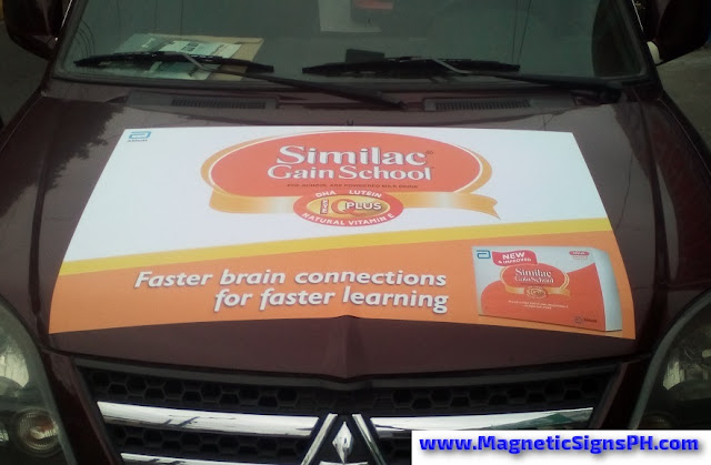 Vehicle Magnet - Similac Gain School