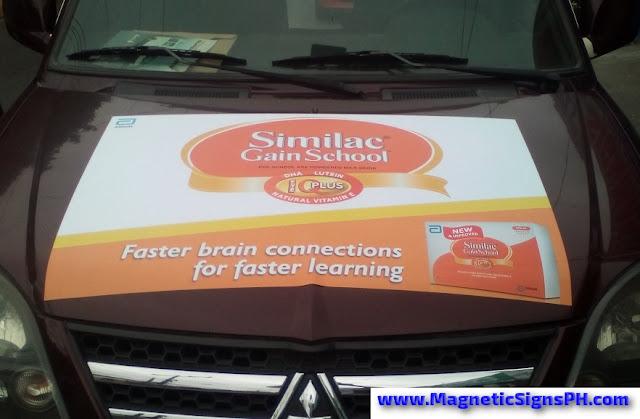 Vehicle Magnet - Similac Gain School