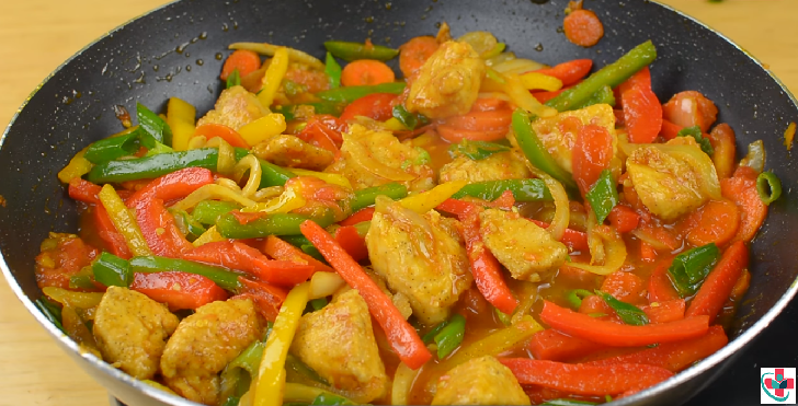 Simple Chicken and Vegetable Stir-fry Recipe