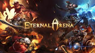 game Moba Android terbaik terpopuler - Eternal Arena