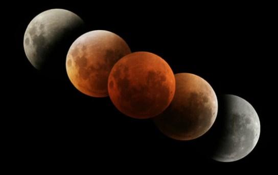 Macam-macam dan Jenis-jenis Gerhana Bulan