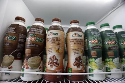 Resultado de imagem para Iogurte de café é sucesso na Feira Baiana da Agricultura Familiar
