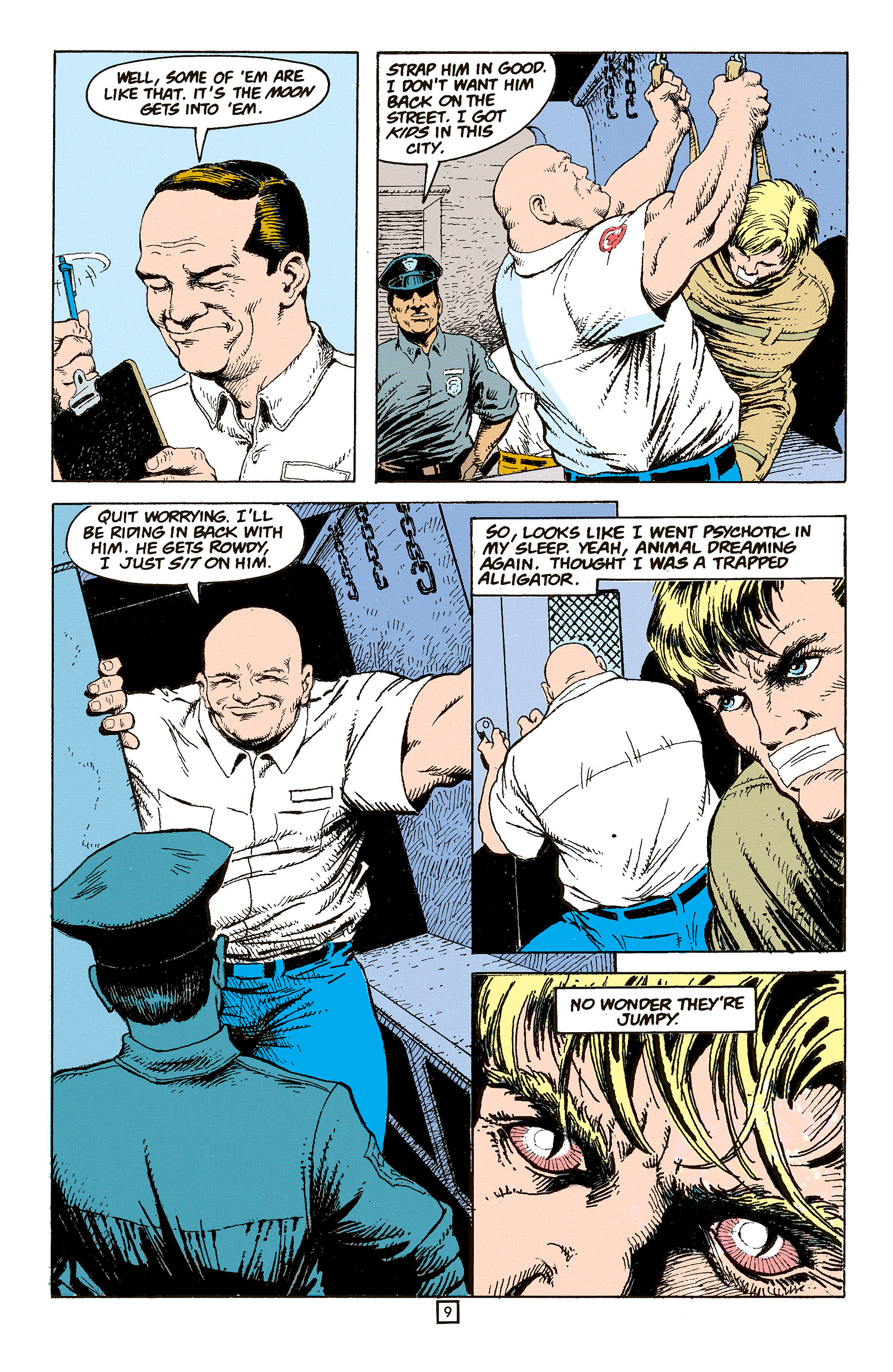 Read online Animal Man (1988) comic -  Issue #60 - 10