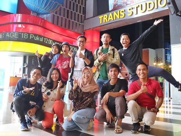Blogger Day 2019, 'Backlink' Dunia Nyata di Trans Studio Bandung
