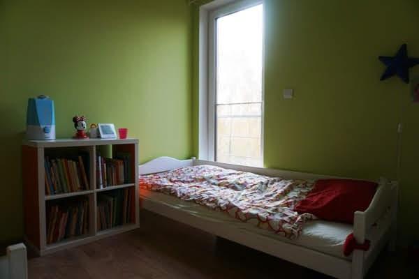 łóżko we wspólnym pokoju dzieci, łóżko pięciolatki