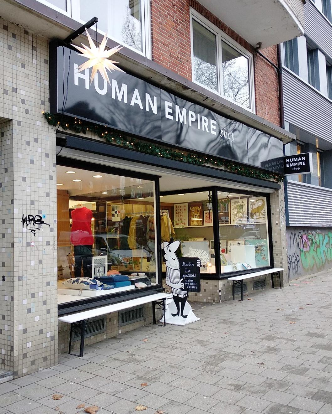 Besuch bei Human Empire in der Schanze