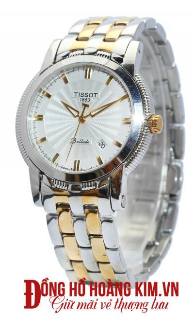 đồng hồ tissot nam dây sắt giảm giá thời trang