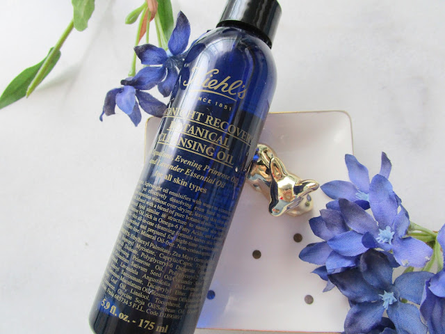 Midnight Recovery Botanical Cleansing Oil de Kiehl´s.
