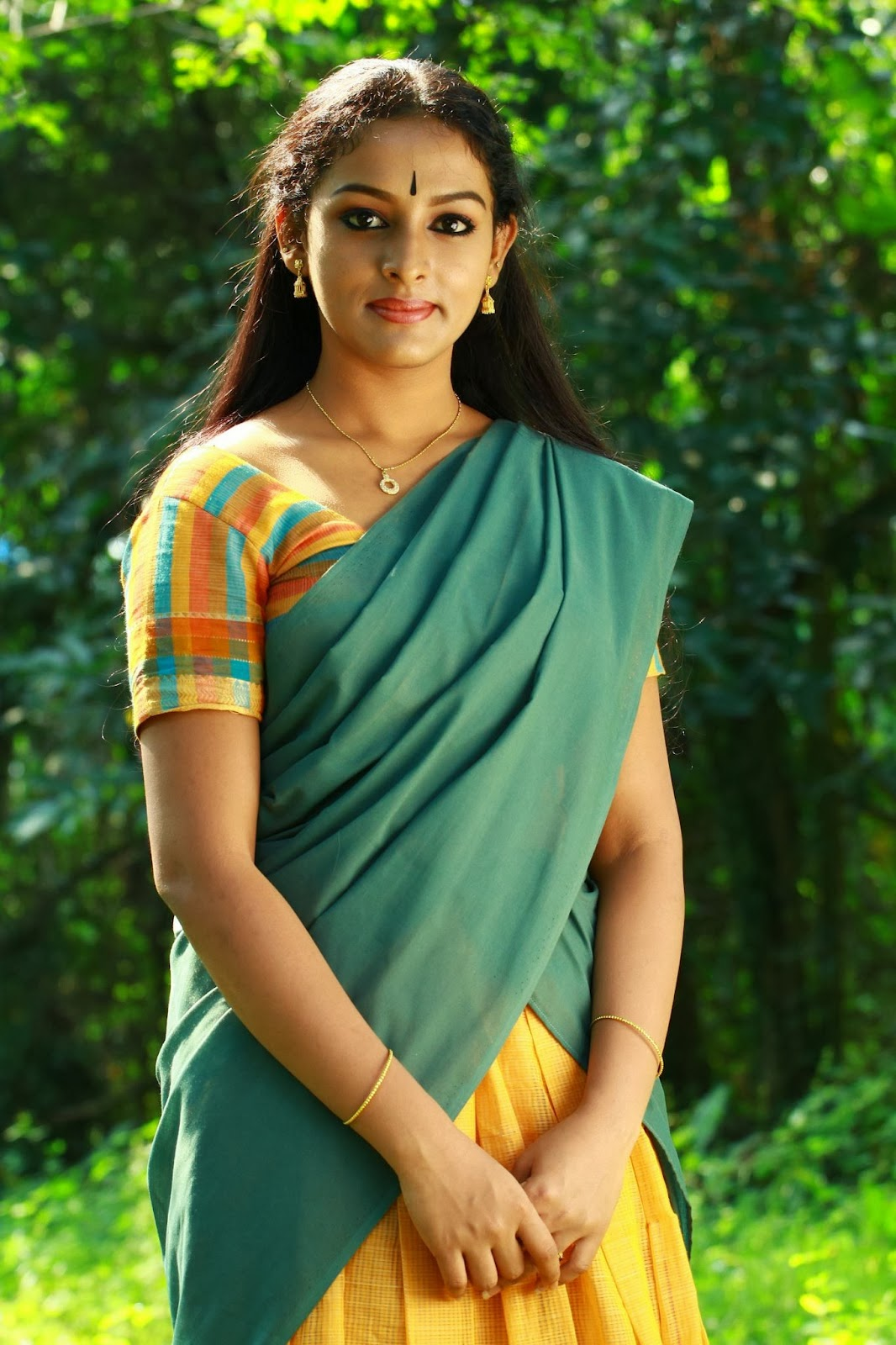 Redwine Malayalam Mallu Serial Actress Mahalakshmi -7702