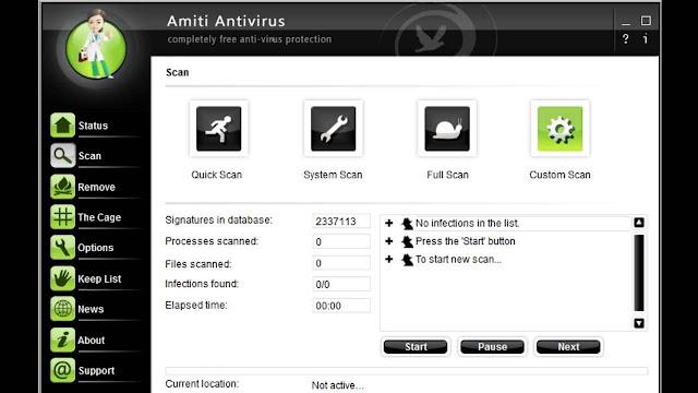 NETGATE Amiti Antivirus 25.0.1