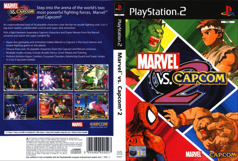 Marvel Vs capcom 2 ps2