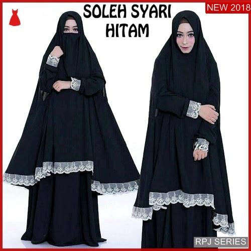 RPJ078D161 Model Dress Soleh Cantik Syari Wanita