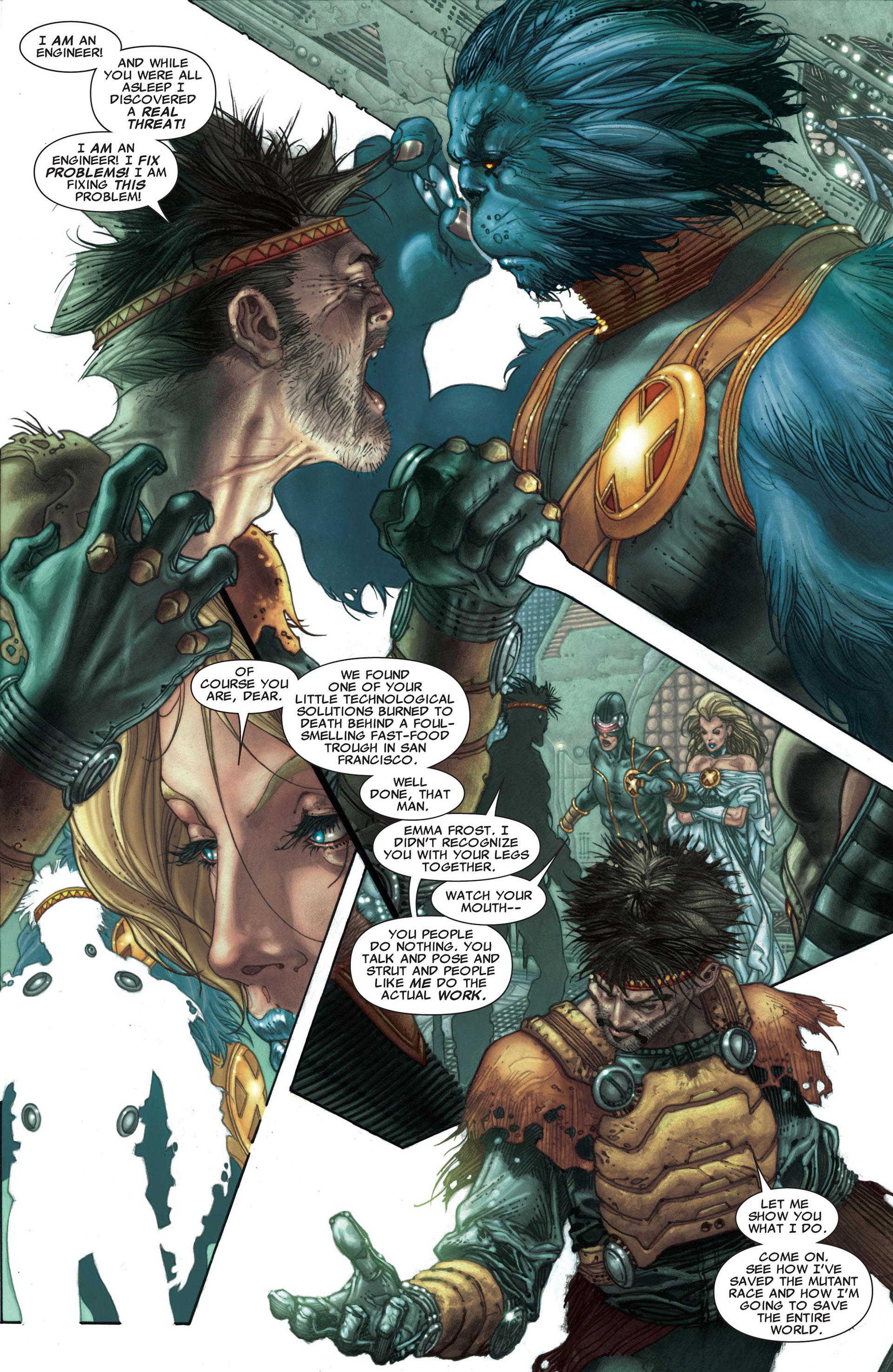 Read online Astonishing X-Men (2004) comic -  Issue #30 - 5