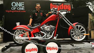 2016 Big Dog K9 Red Chopper 111 custom bike