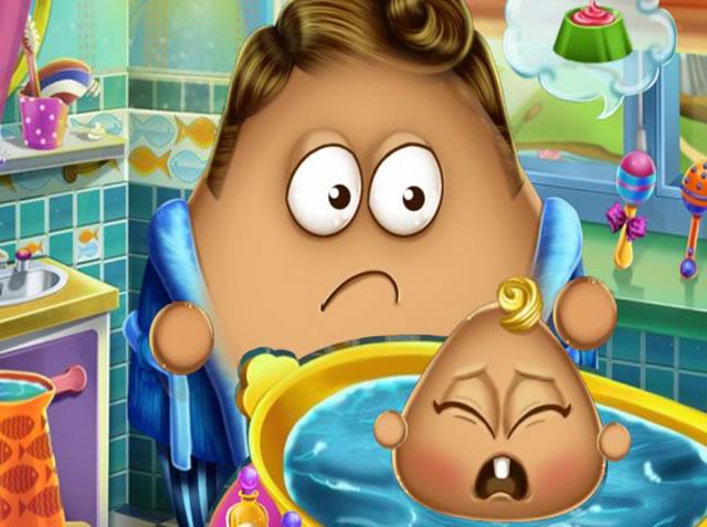 Cuidando do Bebê Pou