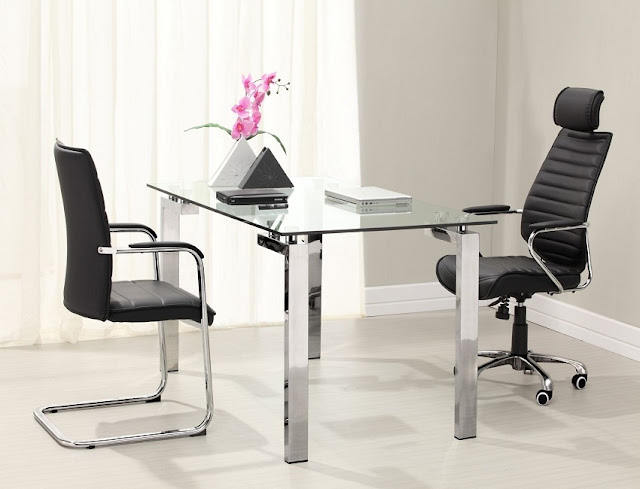 best buy glass contemporary home office furniture Dallas for sale online